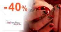 RajNechtov.sk zľavový kód zľava -40%, kupón, akcia, výpredaj, akcie, zľavy