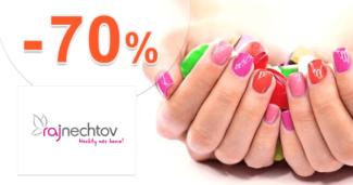 RajNechtov.sk zľavový kód zľava -70%, kupón, akcia, výpredaj, akcie, zľavy
