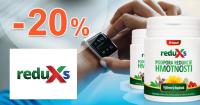 ReduXs.sk zľavový kód zľava -20%, kupón, akcia