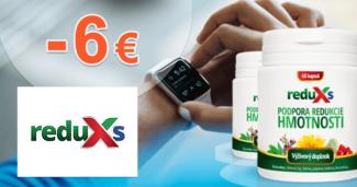 reduXs.sk zľavový kód zľava -6€, kupón, akcia