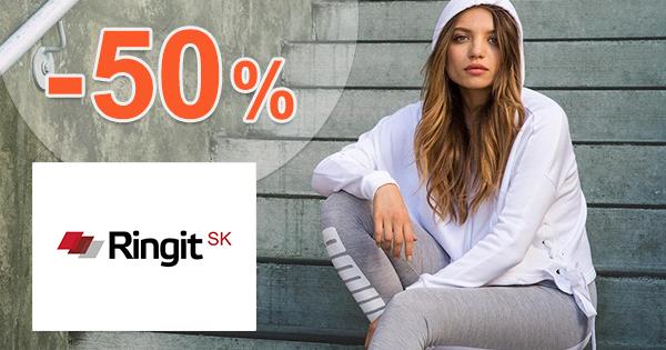 Ringit.sk zľavový kód zľava -50%, kupón, akcia, výpredaj