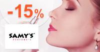 Samys-parfemy.sk zľavový kód zľava -15%, kupón, akcia