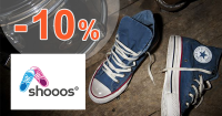 Shooos.sk zľavový kód zľava -10%, kupón, akcia