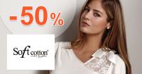 SoftCotton.sk zľavový kód zľava -50%, kupón, akcia, výpredaj