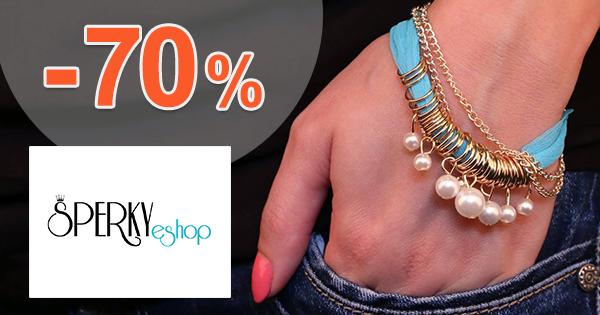 Šperky-eshop.sk zľavový kód zľava -70%, kupón, akcia