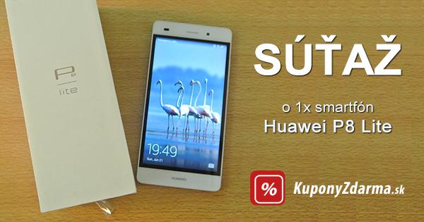 Súťaž o Huawei P8 Lite