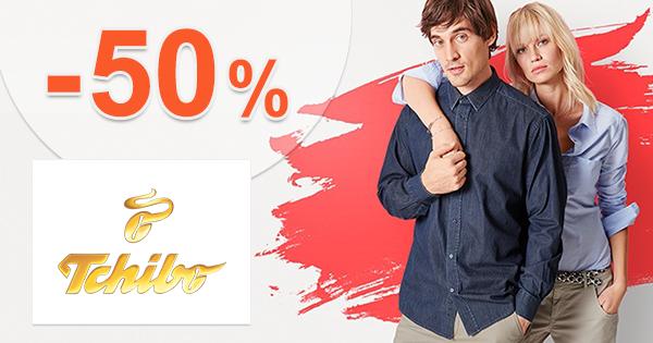 Tchibo.sk zľavový kód zľava -50%, kupón, akcia, výpredaj
