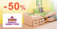Rozkladacie kreslo -50% zľava na TempoNabytok.sk