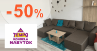Akciové sety nábytku až -50% na TempoNabytok.sk