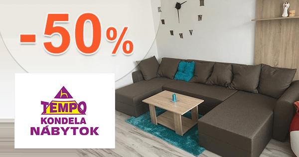 dc056f31af30 Akcie na nábytok pre obývaciu izbu až -50% na TempoNabytok.sk