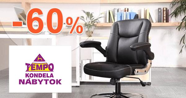Akciové sety stoličiek až -60% na TempoNabytok.sk