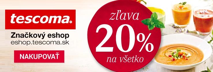 Extra kupón -20% na Tescoma