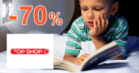 TopShop.sk zľavový kód zľava -70%, kupón, akcia, výpredaj