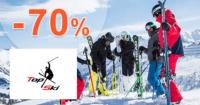 TopSki.sk zľavový kód zľava -70%, kupón, akcia, výpredaj vybavenia na šport, akcie, zľavy