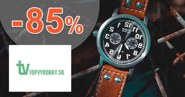 TopVyrobky.sk zľavový kód zľava -85%, kupón, akcia, výpredaj