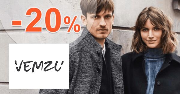 Vemzu.sk zľavový kód zľava -20%, kupón, akcia