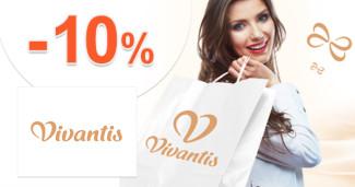 Vivantis.sk zľavový kód zľava -10%, kupón, akcia