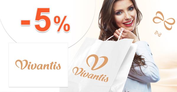 Vivantis.sk zľavový kód zľava -5%, kupón, akcia