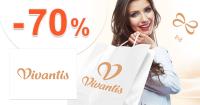 Vivantis.sk zľavový kód zľava -70%, kupón, akcia