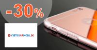 VsetkoNaMobil.sk zľavový kód zľava -30%, kupón, akcia, akcie, zľavy