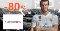 VsetkyDresy.sk zľavový kód zľava -80%, kupón, akcia, výpredaj