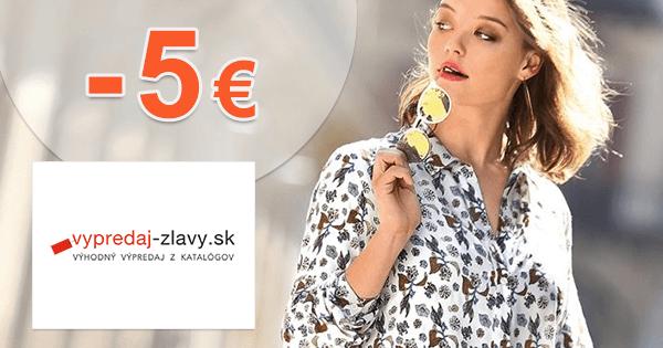 Vypredaj-zlavy.sk zľavový kód zľava -5€, kupón, akcia