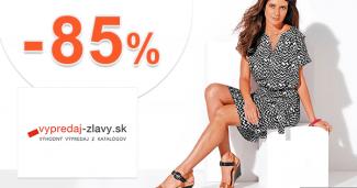 Vypredaj-zlavy.sk zľavový kód zľava -85%, kupón, akcia, akcie, zľavy, výpredaj, dámska móda