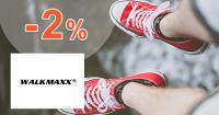 Walkmaxx.sk zľavový kód zľava -2%, kupón, akcia