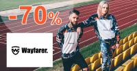Wayfarer.sk zľavový kód zľava -70%, kupón, akcia, výpredaj