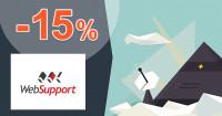 WebSupport.sk SSL certifikát zľavový kód zľava -15%, kupón, akcia