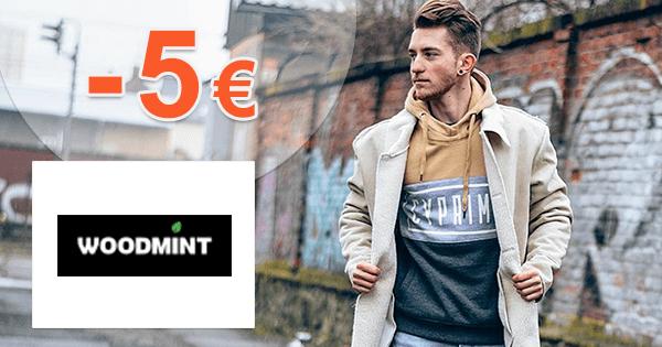 WoodMint.sk zľavový kód zľava -5€, kupón, akcia