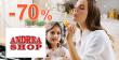Megavýpredaj a zľavy až -70% na AndreaShop.sk