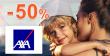 Zľava -50% na cestovné poistenie na AXA-assistance.sk