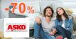 VEĽKÝ VÝPREDAJ → AŽ -70% na ASKO-nabytok.sk