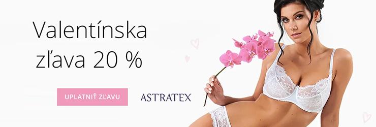 Valentínska zľava na Astrtex.sk