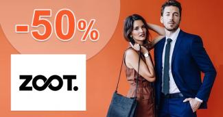 Veľké jesenné zľavy až -50% na ZOOT.sk + doprava ZDARMA
