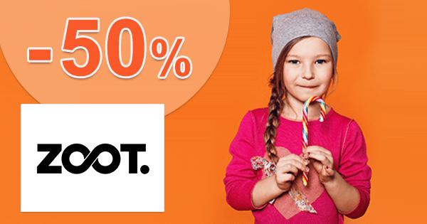 ZOOT.sk zľavový kód zľava -50%, kupón, akcia, výpredaj, zľavy pre dievčatá