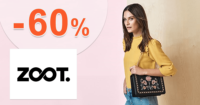 ZOOT.sk zľavový kód zľava -60%, kupón, akcia, výpredaj, zľavy pre nové kolekcie